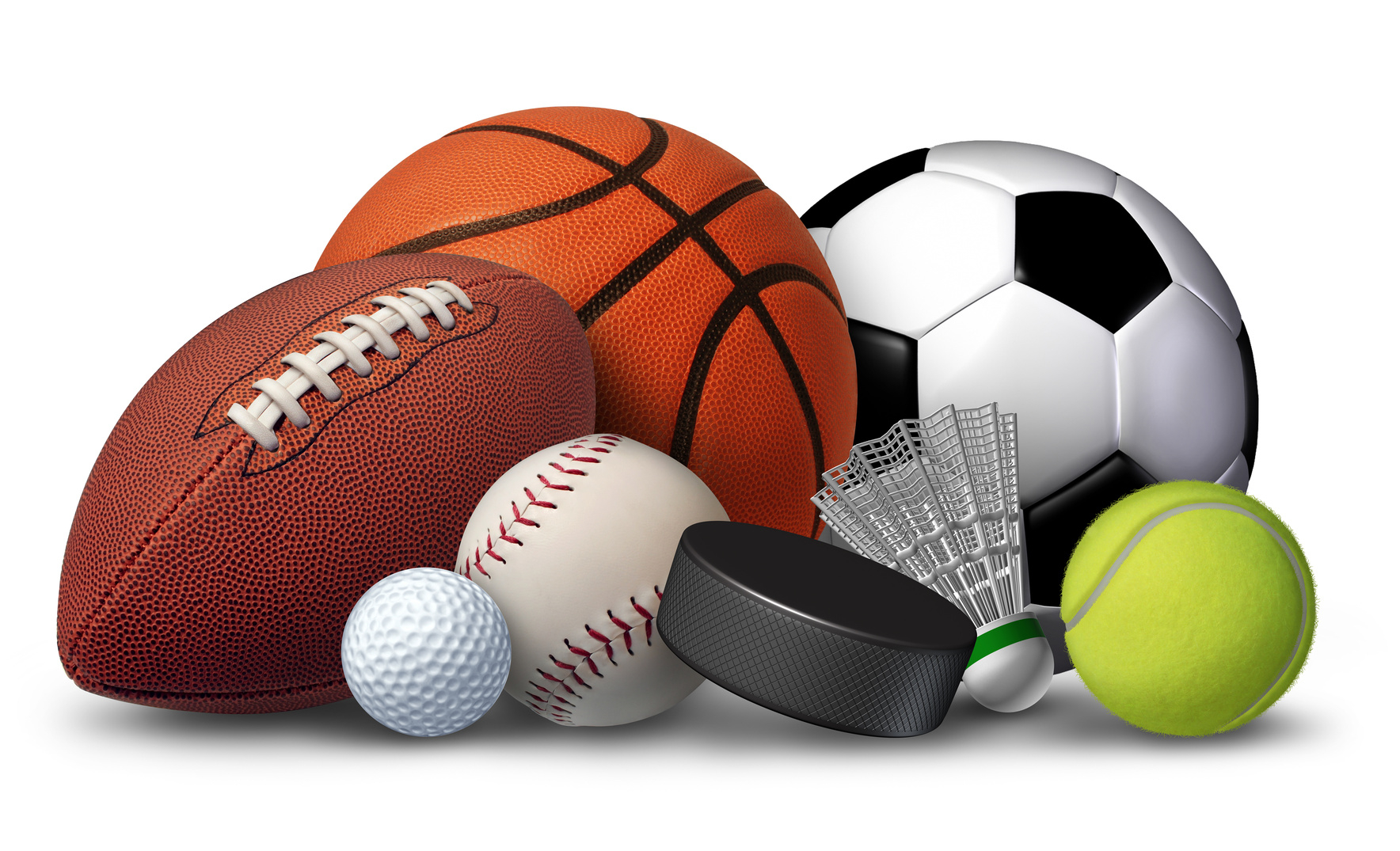 Разнообразие спортивных товаров для различных видов тренировок